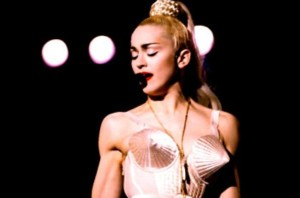 Madonna in conical bra