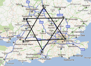 Jewish Conspiracy on Map